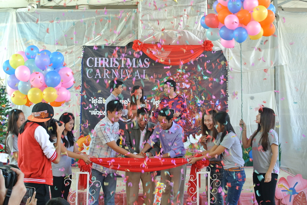 Opening Ceremony At Christmas Carnival