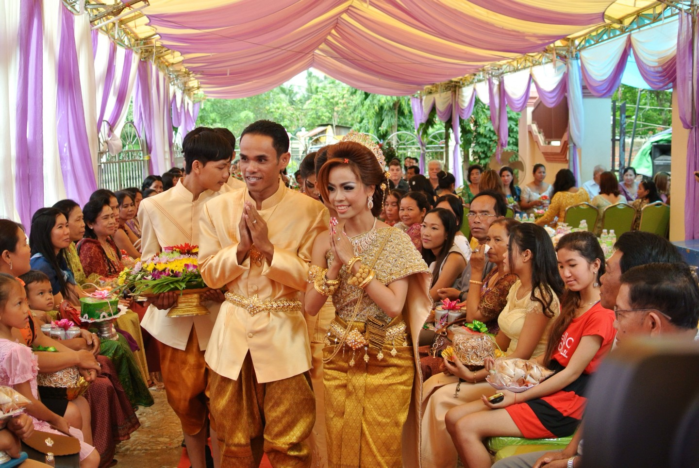 cambodian wedding
